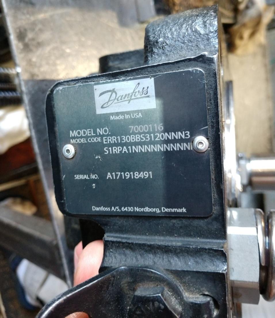 ремонт гидромотора Danfoss 7000116,
