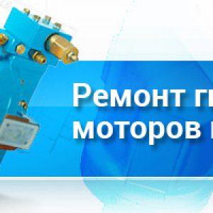ремонт гидромотора bork
