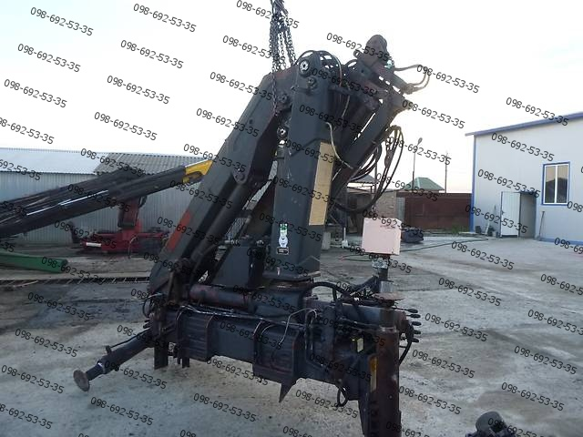 Ремонт гидромотора манипулятора Meiller