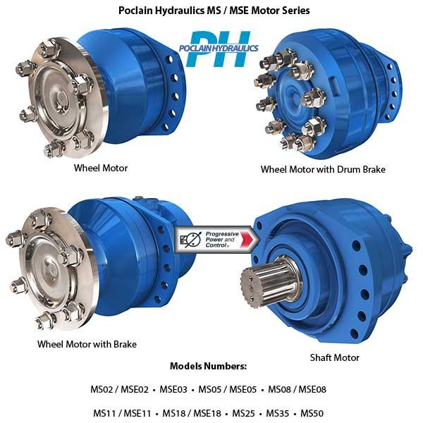 Ремонт Радиально-поршневых двигателей Poclain MS & MSE,